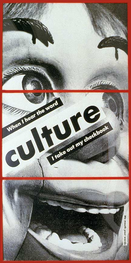 a study of the life of barbara kruger