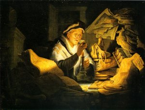Rembrandt, The Money Changer, 1627