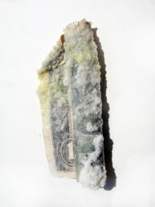 Reed Seifer, Crystalized currency, 2012-2013