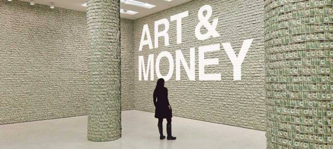 Art and Money cover, based on the Hugo Boss Prize installation by Hans-Peter Feldmann