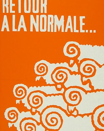 An iconic poster from May '68, Paris