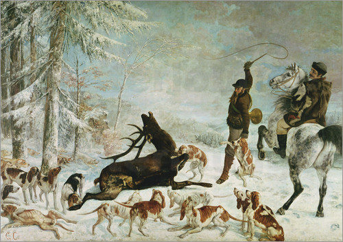 gustave-courbet-the-death-of-the-deer-118857