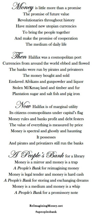 "From ""A People's Bank"" - Max Haiven - reimaginingmoney.net"